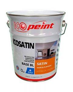 Peinture Acrylique Satin Lessivable 3L - ICOSATIN RAL 9016 Blanc signalisation de la marque ICOPEINT image 0 produit