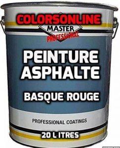 PEINTURE ASPHALTE 20Litres BASQUE ROUGE revêtement parking de la marque COLORSONLINE-PAINTMASTER image 0 produit