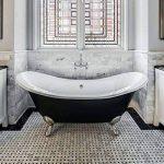 PEINTURE BAIGNOIRE LAVABO - Résine rénovation baignoire lavabo émail salle de bain - RAL 7011 Gris fer, Kit 1kg jusqu'a 3m² pour 2 couches de la marque ARCANE-INDUSTRIES image 4 produit