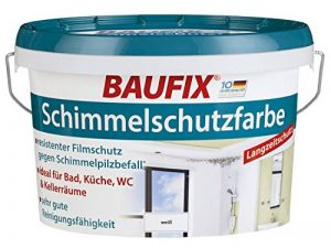 Peinture Baufix - Anti-moisissure - Blanc satiné - 2,5 l de la marque Baufix image 0 produit