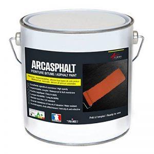 PEINTURE BITUME ARCASPHALT - Peinture résine pour sol bitume, asphalte, goudron, enrobé - blanc, 3.75 KG pour 7.5m2 en 2 couches de la marque ARCANE-INDUSTRIES image 0 produit