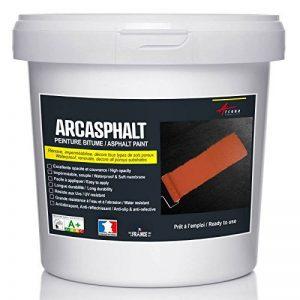 PEINTURE BITUME ARCASPHALT - Peinture résine pour sol bitume, asphalte, goudron, enrobé - Noir, 25 KG pour 50m2 en 2 couches de la marque ARCANE-INDUSTRIES image 0 produit