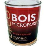 Peinture Bois glycéro microporeuse intérieur extérieur 1L - RAL 7004 Gris de sécurité + Brosse OFFERTE de la marque ICOPEINT image 1 produit