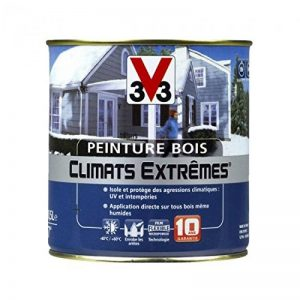 Peinture Bois V33 Climats Extrêmes Satin Taupe de la marque V33 image 0 produit