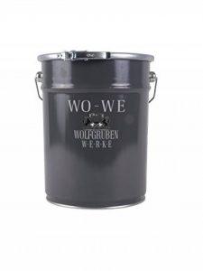 Peinture bois Vernis boiserie Finition Mat Couleurs - Gris-Anthracite similaire RAL 7016-5L de la marque Wowe image 0 produit