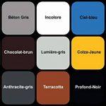 Peinture bois Vernis boiserie Finition Mat Couleurs - Gris-Anthracite similaire RAL 7016-5L de la marque Wowe image 1 produit