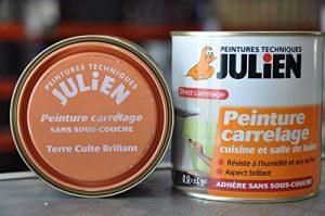 Peinture carrelage - 0.5 L - Terre Cuite de la marque Julien image 0 produit