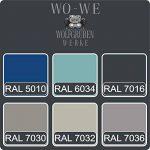 Peinture De Baignoire Vernis Revêtement 2K RAL 7016 Gris Anthracite W710 2,5Kg de la marque Wowe image 3 produit