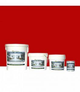 Peinture de Sol Laque Epoxy Rouge 1 Kg Rouge de la marque MATPRO image 0 produit