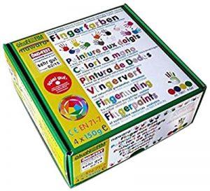 Peinture à doigt 4 couleurs de la marque ECODIS image 0 produit