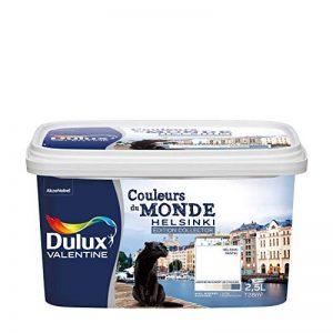 Peinture Dulux Valentine pour murs et boiseries - Couleurs Du Monde Edition Collector Helsinki Pastel (Blanc) Satin 2,5L de la marque DULUX-VALENTINE image 0 produit