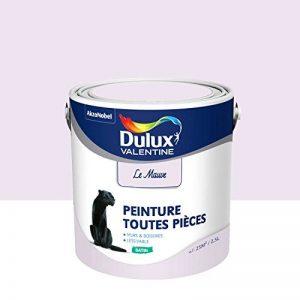 Peinture Dulux Valentine Toutes Pièces - Aspect Satin - Le Mauve 2,5 L de la marque DULUX-VALENTINE image 0 produit