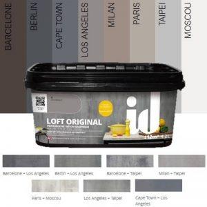 Peinture effet béton LOFT ORIGINAL - ID Paris Barcelone 2.00Litre de la marque ID Paris image 0 produit