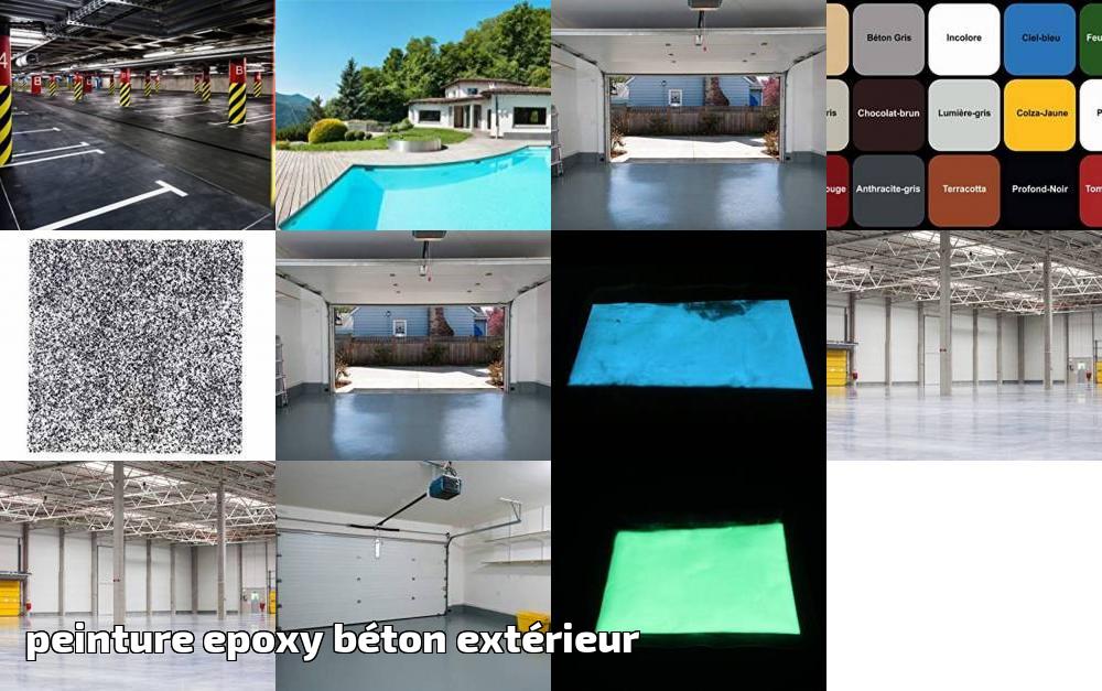 Peinture Epoxy Béton Extérieur Le Top 13 Pour 2020