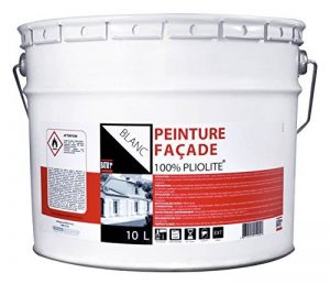 Peinture façade 100 % piolite® Batir 1er - Seau 10 l - Blanc de la marque RECA image 0 produit