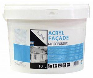 Peinture façade acryl microporeux Batir 1er - Seau 10 l - Blanc de la marque Batir 1er image 0 produit