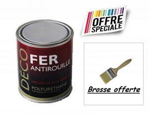 Peinture glycéro Fer Antirouille métaux 1L - RAL 7016 Gris anthracite + Brosse OFFERTE de la marque ICOPEINT image 0 produit