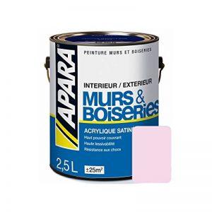 Peinture intérieure couleur, acrylique satinée 2.5 litres Parme de la marque Peintures Daniel image 0 produit