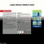 Peinture JULIEN féricolor - laque pour métaux ferreux - noir satiné 0,5L de la marque Julien image 1 produit