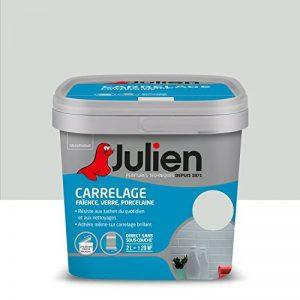 Peinture Julien pour Carrelage - Brillant Gris Perle 2 L de la marque Julien image 0 produit