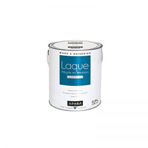 Peinture laque brillante pour murs et boiseries 2.5 litres Blanc de la marque APARA image 0 produit