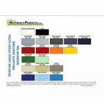 Peinture laque epoxy ultra brillante sanitaire 1 Kg Bleu piscine de la marque MATPRO image 2 produit