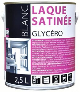 Peinture laque glycéro Batir 1er - Boîte 2,5 l - Blanc de la marque RECA image 0 produit