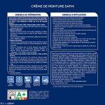 Peinture monocouche pour murs, boiseries et plafonds Crème De Peinture Satin Blanc 6 L Maxi Format - Dulux Valentine de la marque DULUX-VALENTINE image 1 produit