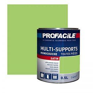 Peinture multi-support intérieur couleurs, PROFACILE 0.5 litre Citron vert de la marque PROFACILE image 0 produit