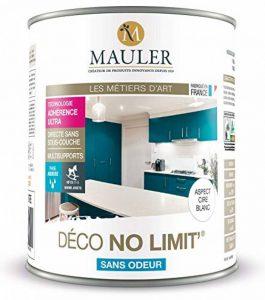 Peinture multisupports Mauler Deco No Limit' blanc : Idéale pour rénover meubles et tous supports sans décapage ni sous-couche (1L) de la marque MAULER image 0 produit