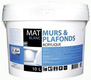 Peinture murs et plafonds Batir 1er - Seau 10 l - Blanc de la marque Batir 1er image 0 produit