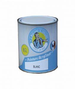 Peinture Onip, Le Marchand de Couleur, Blanc, 0,5 L, ACRYL mat de la marque Onip image 0 produit