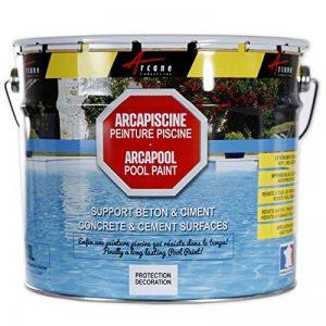 Peinture piscine béton - ARCAPISCINE - noir graphite ral 9011, 10l de la marque ARCANE-INDUSTRIES image 0 produit
