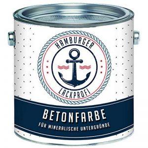 Peinture pour béton SEIDENMATT Gris A RAL 7042 - Revêtement de sol en béton - Couleur de façade - Qualité professionnelle, gris de la marque Hamburger Lack-Profi image 0 produit