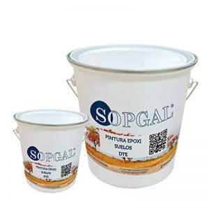 Peinture époxy pour sols industriels–20kgs + 4kgs, antidérapant de la marque Sopgal image 0 produit