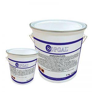 Peinture époxy pour sols industriels–5kgs + 1kg, antidérapant de la marque Sopgal image 0 produit