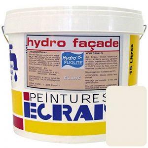 Peinture professionnelle hydro pliolite, protection et décoration façades extérieures, HYDRO FACADE 1 litre Ton pierre de la marque Peintures Daniel image 0 produit