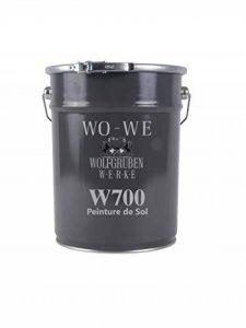 Peinture revêtement de sol pour béton et ciment, intérieur-extérieur, gris anthracite - 10L de la marque Wowe image 0 produit