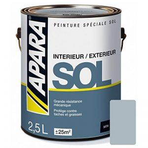 Peinture SOL SATIN 2.5 litres Souris (RAL 7001) de la marque APARA image 0 produit