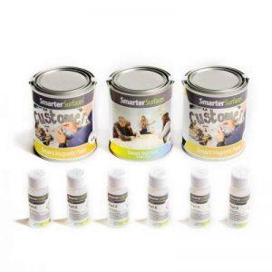 Peinture Tableau Blanc & Magnétique Smart | Transparent | 2m² de la marque SmarterSurfaces image 0 produit