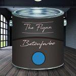 Peinture The Flynn - De haute qualité supérieure - Avec un revêtement plastique très élastique - Application sans apprêt sur les surfaces en béton, plâtre, ciment, pierre , bleu de la marque The Flynn image 1 produit