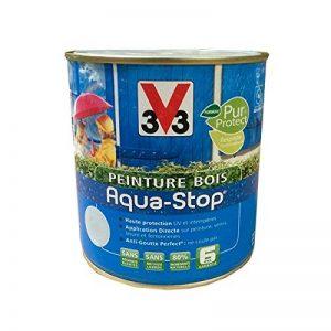 Peinture V33 Bois Aqua-Stop Blanc Satin de la marque V33 image 0 produit
