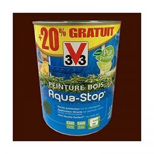 Peinture V33 Bois Aqua-Stop Brun Normand Satin de la marque V33 image 0 produit