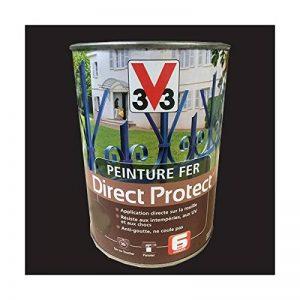 Peinture V33 Fer Direct Protect Noir Mat Ferronnerie de la marque V33 image 0 produit