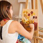 Peintures acryliques 24pc pour les débutants, les étudiants ou les artistes. Mélange parfait de qualité et facile à mélanger.Coloris brillants, bonne couverture sur papier, toile, bois ou tissu de la marque Castle-Art-Supplies image 4 produit