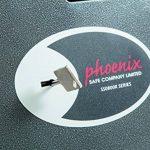Phoenix Coffre De Sécurité Et De Dépôt Phoenix Vela SS0801KD Avec Serrure À Clef (Extra Petit) de la marque Phoenix image 4 produit