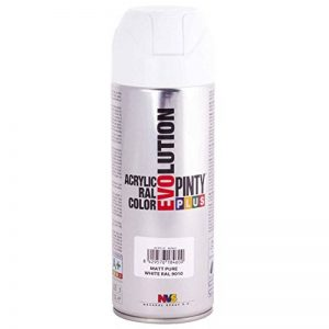 Pinty 600 Bombe 400ml blanc ral 9010 mate Non Concerné de la marque Pinty image 0 produit
