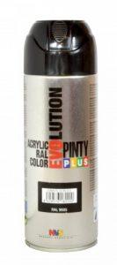 Pinty 601 Bombe 400ml noir ral 9005 brillant Non Concerné de la marque Pinty image 0 produit