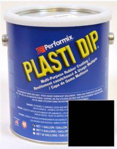 Plasti Dip NOIR mat en bidon 3.78l - Noir, Bidon 3.78 L de la marque Performix image 0 produit