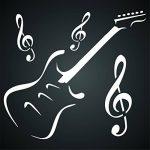 Pochoir clé de sol pour guitare, instruments de musique et peinture - réutilisable - utilisation sur papier, projets de scrapbooking, carnet de murs, sols, tissus, meubles, verre, bois, etc. M de la marque Stencil Company image 4 produit
